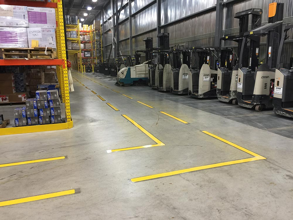 warehouse lines
