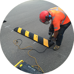 speed bumps installation
